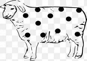 Sheep Clip Art Vector Graphics Image Drawing PNG