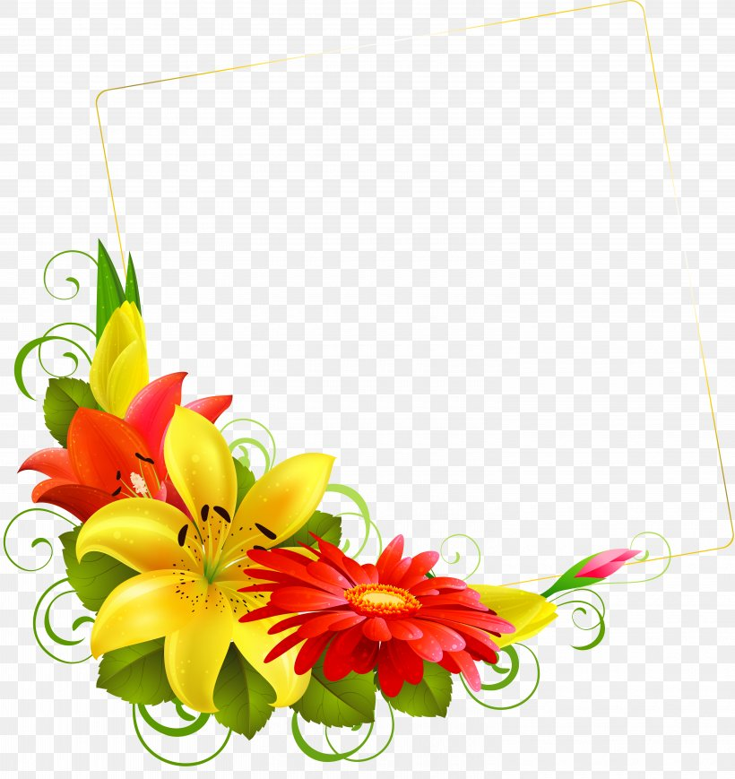 Flowers Background Png 6000x6361px Floral Design Cut Flowers