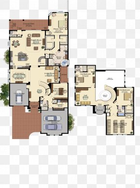 Real Estate Floor Plan - Delray Beach Seven Bridges By GL Homes House Plan Floor Plan PNG