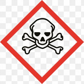 Symbol - GHS Hazard Pictograms Skull And Crossbones Globally Harmonized System Of Classification And Labelling Of Chemicals Hazard Symbol PNG