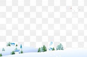 Snow Field - Snow Field Winter Landscape PNG