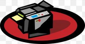 Cartoon Printer - Printer Clip Art PNG