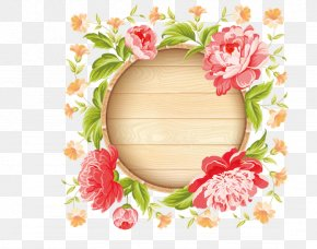 Spring Summer Exquisite Beautiful Peony Flower Garland - Wedding Invitation Pink Flowers Stock Photography PNG