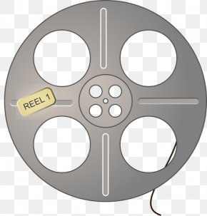 Reel - Art Film Reel Cinema Clip Art PNG