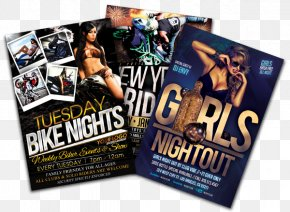 Clubnight Flyer - Flyer Brand Poster PNG