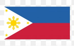 Flag - Flag Of The Philippines National Flag PNG