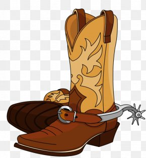 Tall Boots - American Frontier Cowboy Stock Photography Set PNG