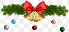 Christmas Bells And Ornaments Transparent Clip Art - Christmas Ornament Jingle Bell Clip Art PNG