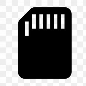Computer Icon - Secure Digital Computer Data Storage Flash Memory Cards PNG