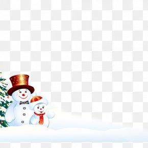 Christmas Snowman - Snowman Christmas Computer File PNG
