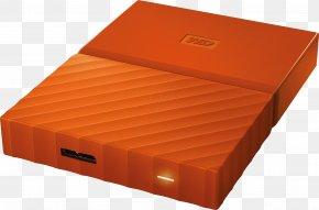 Mobile Hard Disk - WD My Passport HDD Hard Drives Disk Enclosure Western Digital PNG