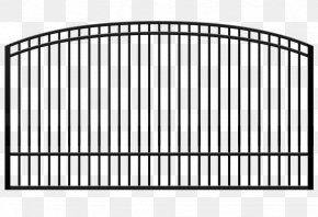 Iron Gate - Fence Aluminum Fencing Chain-link Fencing Gate Wrought Iron PNG