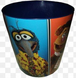 Mug - Mug Plastic Glass Flowerpot Cobalt Blue PNG