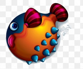 3d Cartoon Big Fat Fish - Cartoon 3D Computer Graphics PNG