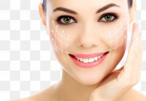 Cosmetics Advertising - Cosmetics Plastic Surgery Wrinkle Therapy Botulinum Toxin PNG