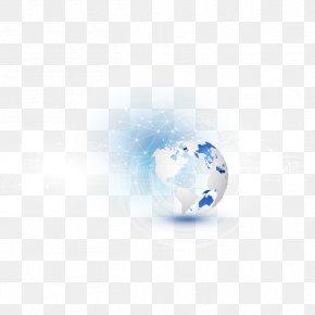 Earth - Golf Ball Blue Wallpaper PNG