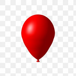 Balloon Image Download Heart Balloons - Heart Red Balloon PNG