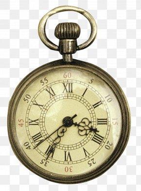 Retro Clock - Pocket Watch Clock Elgin National Watch Company PNG