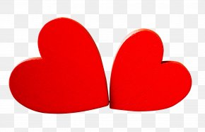 Heart Love - Red Heart Love Valentines Day PNG