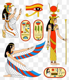 Egypt Creative People - Ancient Egyptian Deities Isis Goddess PNG