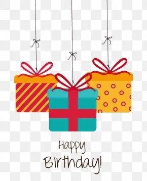 Happy Birthday Birthday Gift - Birthday Gift Greeting Card Christmas PNG