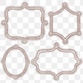 Simple Ham Pattern Shading Pattern Vector Material - Henna Royalty-free Picture Frame Stock Photography PNG