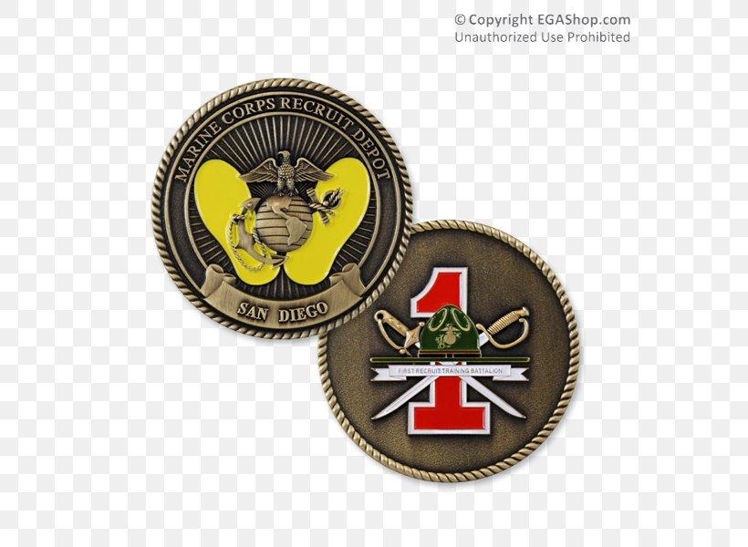 Marine Corps Recruit Depot San Diego Battalion United States Marine Corps Recruit Training, PNG, 600x600px, 1st Marine Division, Battalion, Badge, Coin, Emblem Download Free