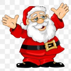 Santa Claus - Santa Claus Clip Art Christmas Openclipart PNG