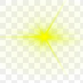 Sunlight Effect - Yellow Pattern PNG