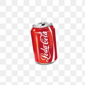 Canned Coca-Cola Drinks - Coca-Cola Soft Drink Diet Coke Carbonated Water PNG