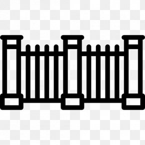 Cartoon Fence - Fence Gate Wrought Iron Building PNG