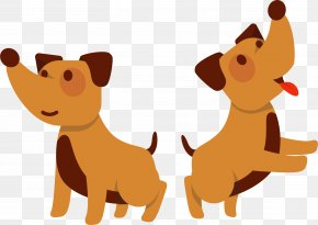 Acquire Cartoon - Puppy Golden Retriever Cat Dog Breed Pug PNG