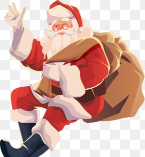 Santa Claus - Santa Claus Christmas Day Vector Graphics Illustration Fast Wrapz PNG