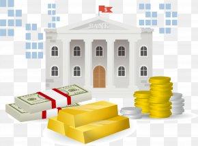 Bank Building - Bank Money Cash PNG