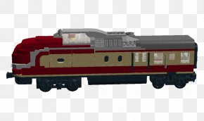 Express Train - Railroad Car Train Passenger Car Locomotive LEGO PNG