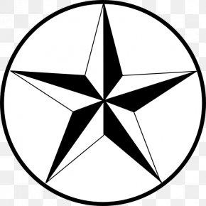 Star Line Art - Star White Clip Art PNG