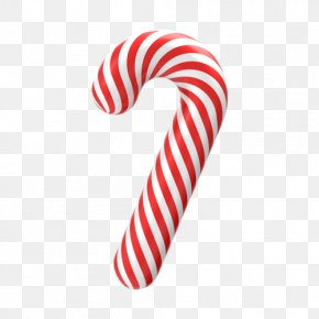 Creative Christmas - Candy Cane Christmas Santa Claus PNG