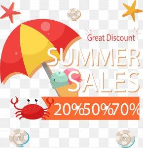 Summer Sun - Clip Art Illustration Vector Graphics Image Logo PNG