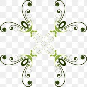 Green Flower - Floral Design Drawing Flower Clip Art PNG