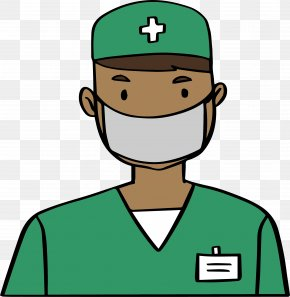 Green Doctor Pack - Clothing Physician Clip Art PNG