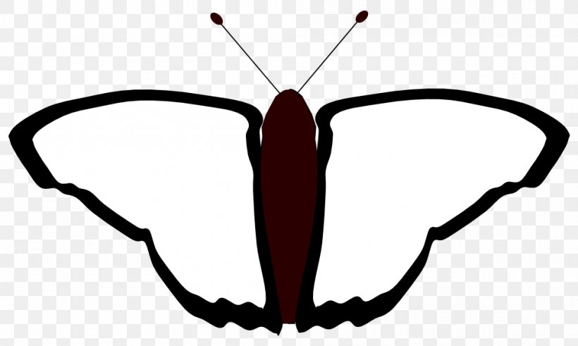 Butterfly Coloring Book Black And White Line Art Clip Art, PNG, 999x599px, Butterfly, Artwork, Black And White, Book, Coloring Book Download Free