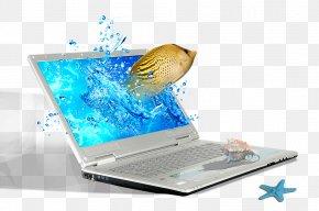 Laptop - Laptop Netbook Computer Computer File PNG