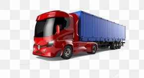 Car - Car Commercial Vehicle Truck Renault Electric Vehicle PNG