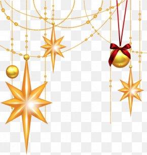 Christmas - Christmas Ornament Star Of Bethlehem Clip Art Christmas Clip Art PNG