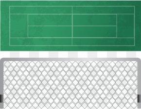 Tennis Field Decomposition Vector - Goal Football Computer File PNG