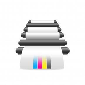 Color Printer - Printer CMYK Color Model Printing Download PNG