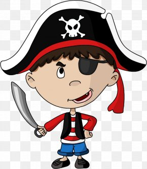 Pirate - Piracy Child Boy Cartoon PNG