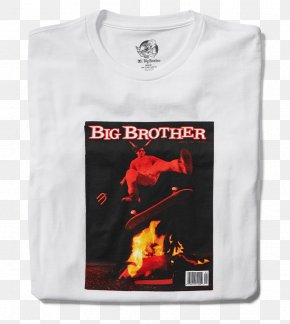 T-shirt - T-shirt The Big Brother Book Magazine Sleeve PNG