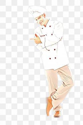 Gesture Sleeve - White Cartoon Standing Sketch Drawing PNG