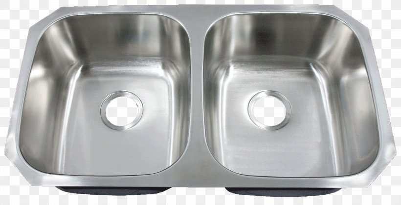Kitchen Sink Stainless Steel Bowl Franke, PNG, 3199x1640px, Sink, Bathroom Sink, Bowl, Bowl Sink, Brushed Metal Download Free